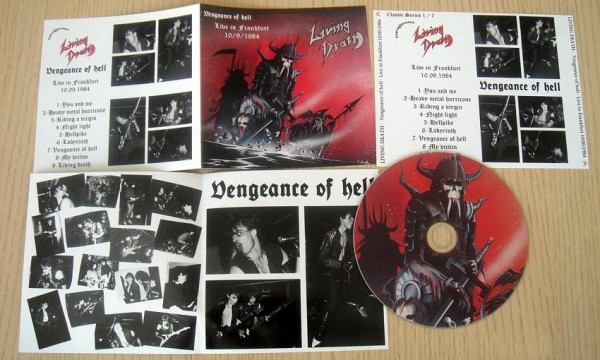 Living Death - Vengeance Of Hell : Live in Frankfurt 1984, CD