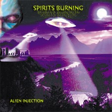 Spirits Burning - Alien Injection, CD