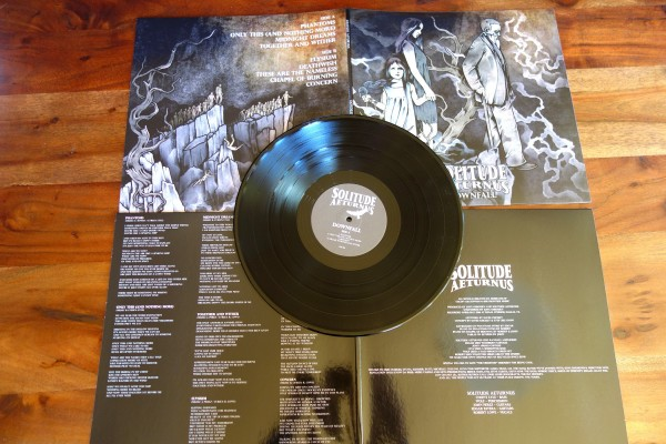Solitude Aeturnus - Downfall [black - 500], LP