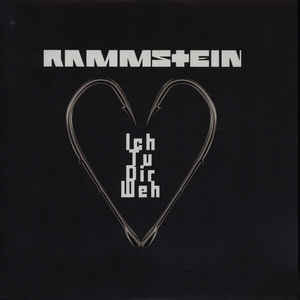 Rammstein -Ich Tu Dir Weh [white - 2000], LP