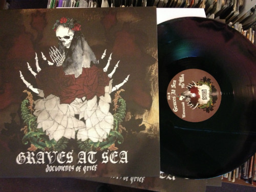 Graves At Sea ‎- Documents Of Grief [3 way blend - 250], LP