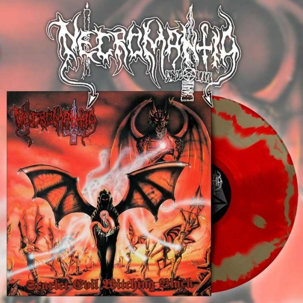 Necromantia - Scarlet Evil Witching Black [red/gold - 300], LP