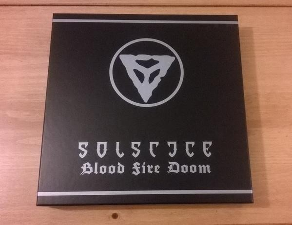 Solstice - Blood Fire Doom [black - 250], 6 VINYL BOX