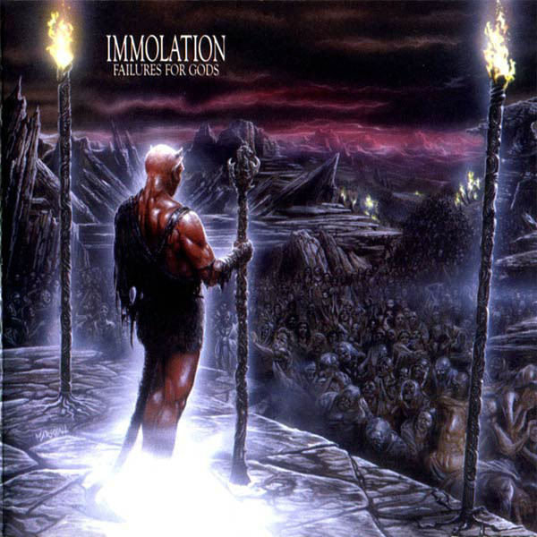 Immolation - Failures For Gods, PromoCD
