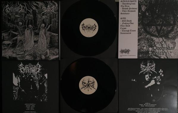Sarkrista/Sad - Split [black - 350], LP