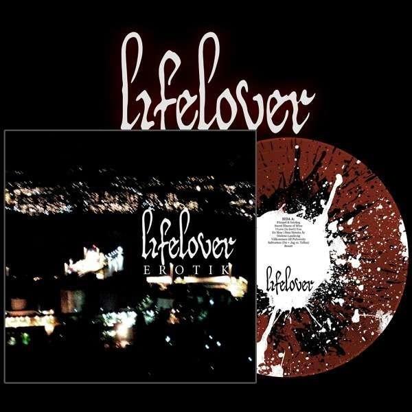 Lifelover - Erotik [red splatter], LP