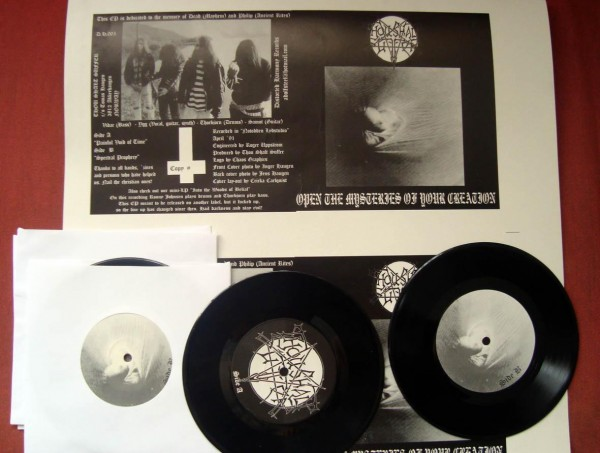 Thou Shalt Suffer - Open The Mysteries Of Your Creation, 7""