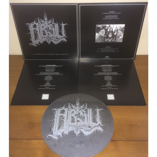 Absu - ...And Shineth Unto The Cold Cometh... [silver/black marble - 300], LP