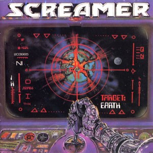 Screamer - Target: Earth, CD