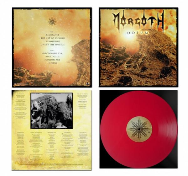 Morgoth - Odium [red], LP
