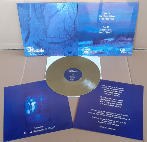 Remete - The Winter Silence / Forgotten Aura [gold - 199], LP