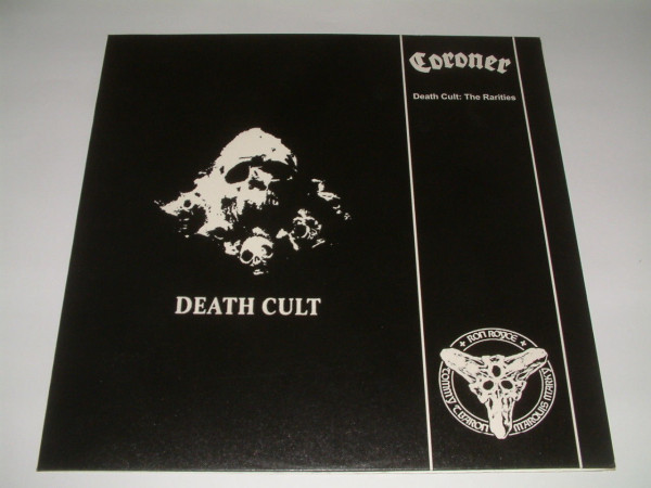 Coroner - Death Cult: The Rarities [black - 150], LP