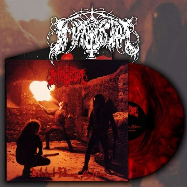 Immortal - Diabolical Fullmoon Mysticism [clear/red - 1000], LP
