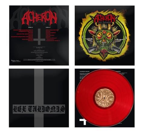 Acheron - Lex Talionis [red], LP