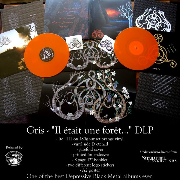 Gris - Il Etait Une Foret [sunset orange - 111] - , 2LP