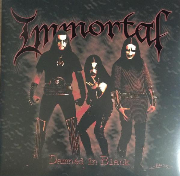 Immortal - Damned In Black [black/gold swirl - 400], LP