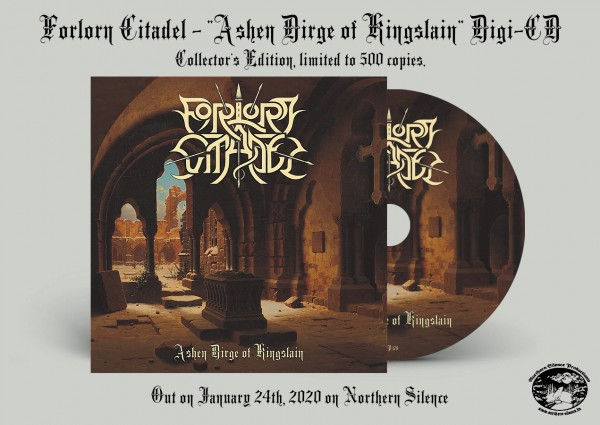 Forlorn Citadel - Ashen Dirge of Kingslain, DigiCD