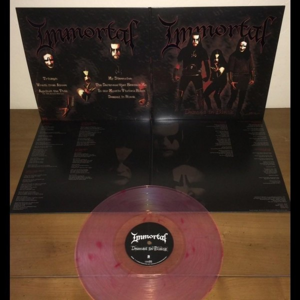 Immortal - Damned In Black [clear/red marble - 500] LP