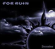For Ruin - December, DigiCD