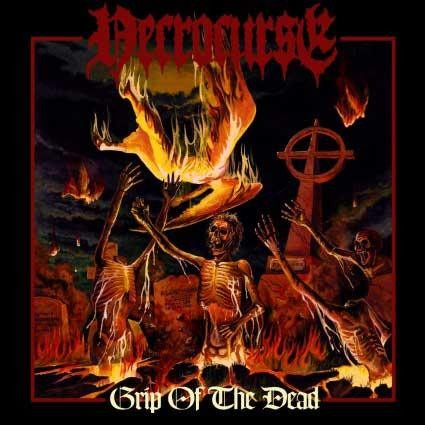 Necrocurse - Grip Of The Dead, CD
