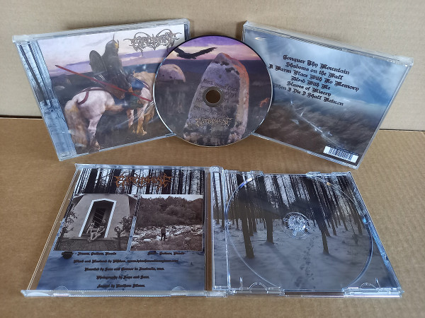 Earthshine - My Bones Shall Rest Upon The Mountain, CD