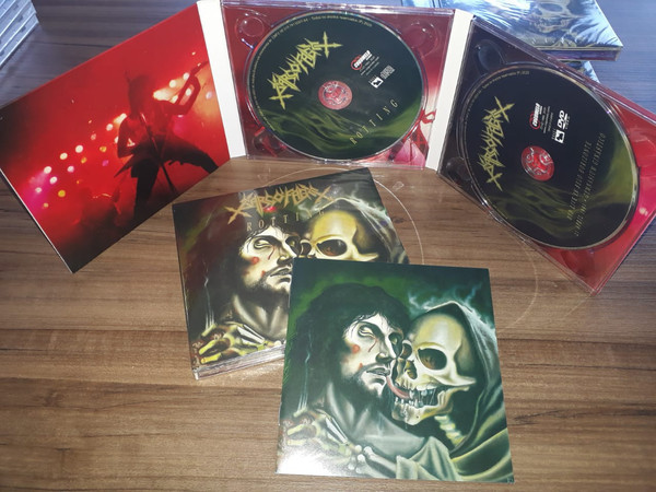 Sarcofago - Rotting, DigiCD+DVD