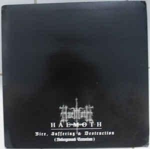 Haemoth - Vice, Suffering And Destruction, LP