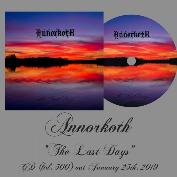 Annorkoth (pre-Skyforest) - The Last Days, CD