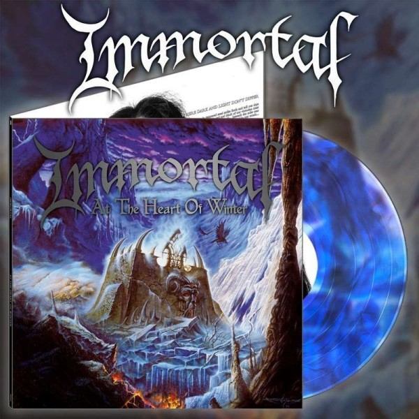 Immortal - At The Heart Of Winter [blue galaxy], LP
