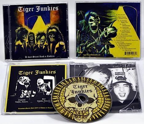Tiger Junkies - D-beat Street Rock'n'Rollers, CD