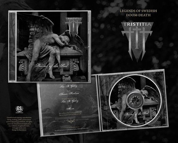 Tristitia - Burial Of The Sad, CD