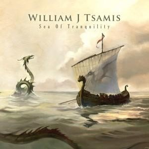 William J Tsamis [Warlord] - Sea Of Tranquility, CD
