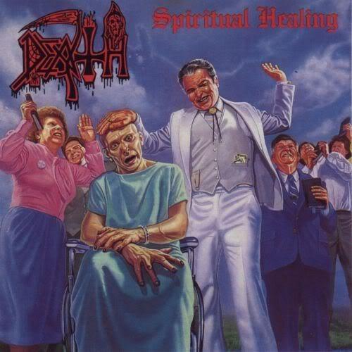 Death - Spiritual Healing, CD