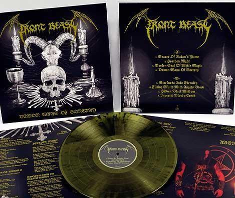 Front Beast - Demon Ways Of Sorcery [splatter], LP