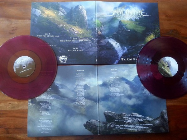 Can Bardd - The Last Rain [purple - 199], 2LP