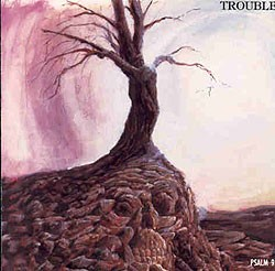 Trouble - Psalm 9 [red], LP