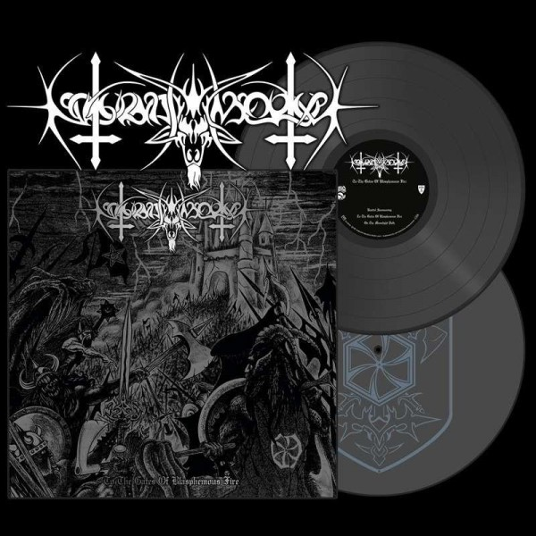 Nokturnal Mortum - To The Gates Of Blasphemous Fire [silver - 300], 2LP