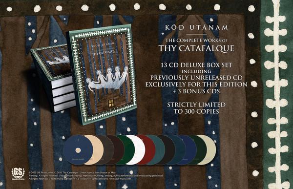 Thy Catafalque - Köd Utánam, 13-CD BOX