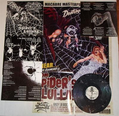 King Diamond - The Spider's Lullabye DEMO [black/purple splatter - 200], LP