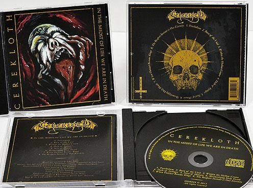 Cerekloth - In The Midst Of Life We Are In Death, CD