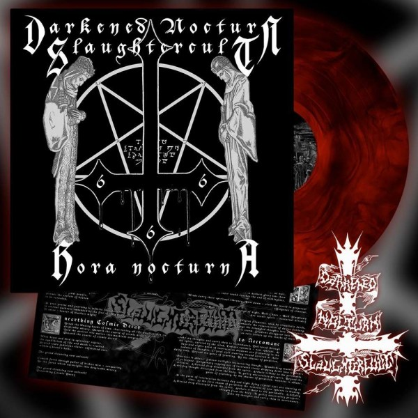 Darkened Nocturn Slaughtercult - Hora Nocturna [red/black galaxy - 300], LP