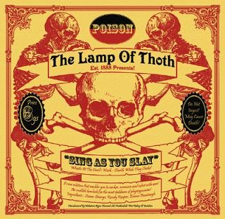 The Lamp Of Thoth - Sing As You Slay, 10""