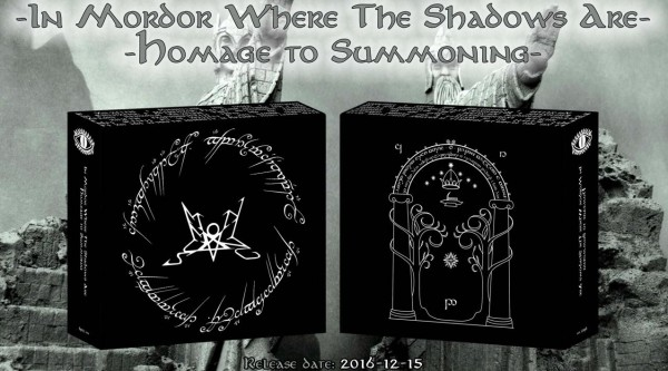 Summoning (Tribute) - In Mordor Where The Shadows Are, 3CD-BOX