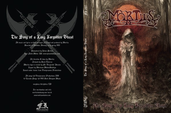 Mortiis - The Song Of A Long Forgotten Ghost, A5-DigiCD