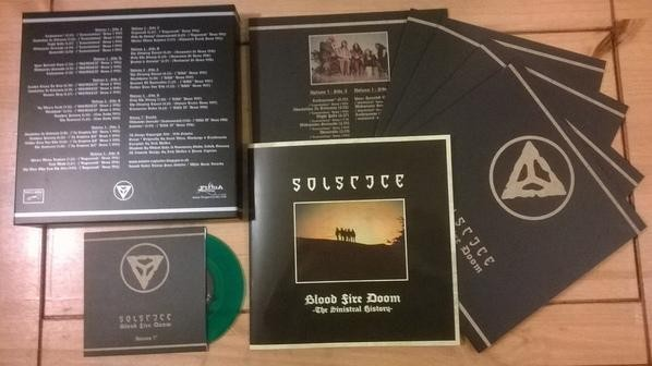 Solstice - Blood Fire Doom [green - 250], 6 VINYL BOX