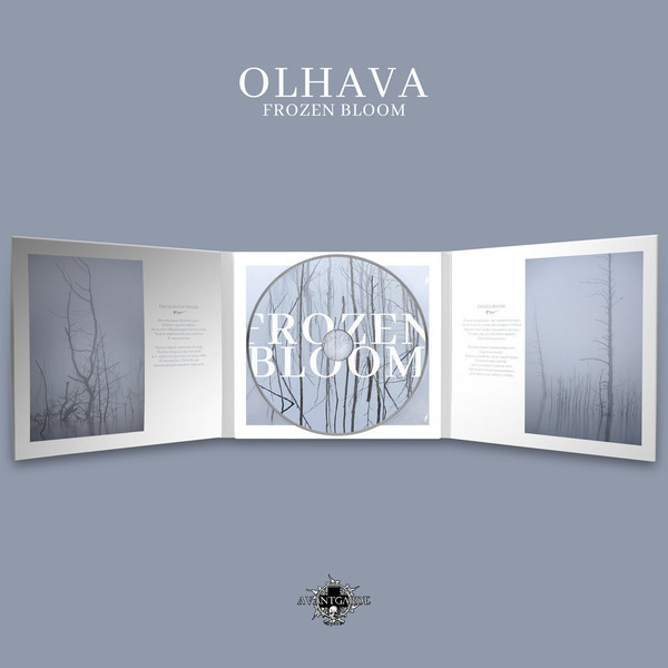 Olhava - Frozen Bloom, DigiCD