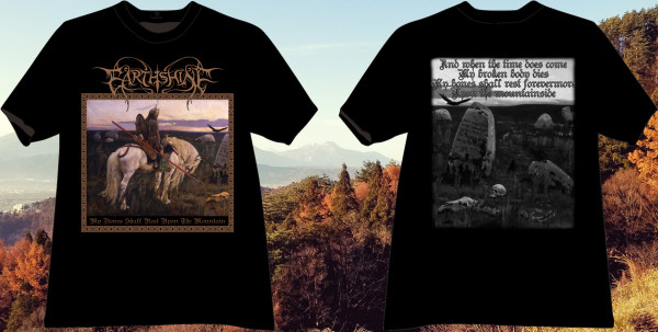 Earthshine - My Bones Shall Rest Upon The Mountain, TS