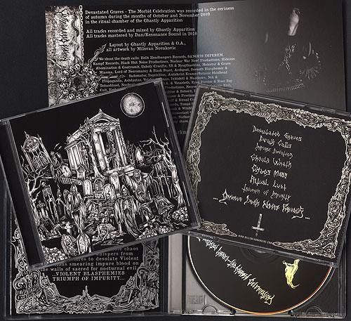 Nocturnal Blood - Devastated Graves, CD