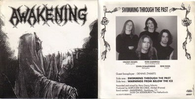 Awakening - Swimming Through The Past, 7""