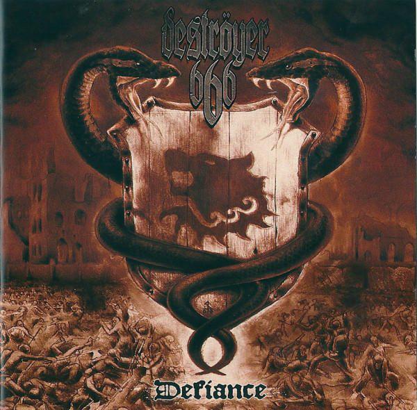 Destroyer 666 - Defiance [red], LP